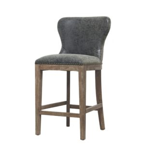 Darcey Stool (Charcoal) by New Pacific Direct – Your Choice 26″ Counter or 30″ Bar