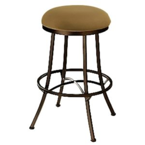 Charleston Swivel Barstool (Backless) by Callee