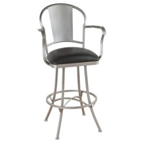 Charleston Swivel Barstool w/ Arms by Callee