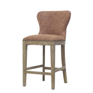 Darcey Stool (Chocolate) by New Pacific Direct – Your Choice 26″ Counter or 30″ Bar