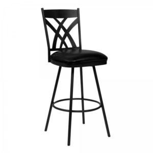 Clover Swivel Stool(Matte Black) by Lee Jay