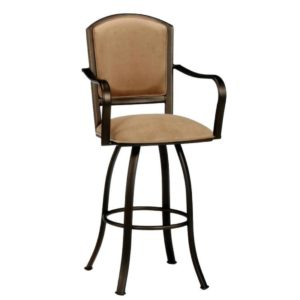 Dunhill Swivel Barstool w/ Arms by Callee