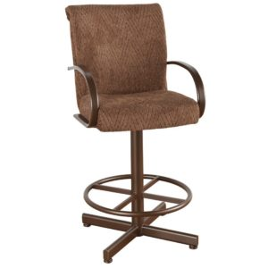 Durant Swivel Barstool w/ Arms by Callee