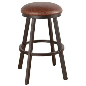 Edison Swivel Barstool (Backless) by Callee