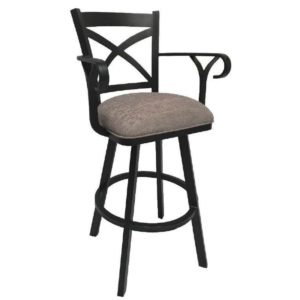 Edison Swivel Barstool w/ Arms by Callee