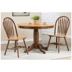 Farmington 3-Piece Dining Set (Fruitwood) by Winners Only