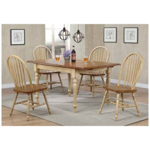 Farmington 5-Piece Dining Set (Almond/Wheat) by Winners Only