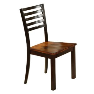 Fifth Avenue Ladder-back Side Chair (Acacia) by Winners Only