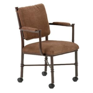 Grace Caster Dining Chair by Callee