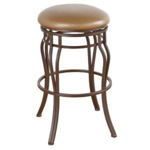 Hayward Swivel Barstool (Backless) by Callee