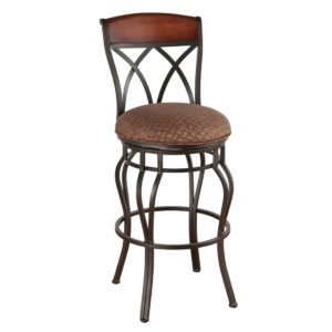 Hayward Swivel Barstool by Callee