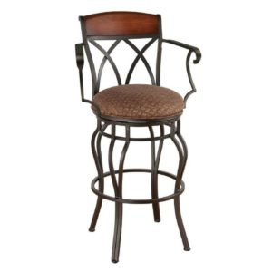Hayward Swivel Barstool w/ Arms by Callee