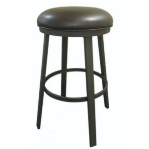 Kingston Swivel Barstool (Backless) by Callee