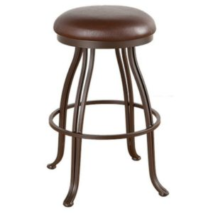 London Swivel Barstool (Backless) by Callee