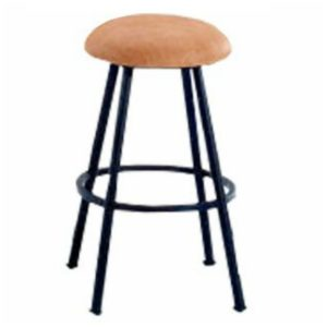 Longhorn Swivel Barstool (Backless) by Callee
