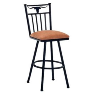 Longhorn Swivel Barstool by Callee