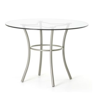 Lotus Table (glass) ~ 50509 by Amisco