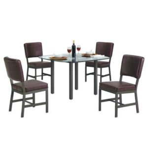 Malibu 5 Piece Dining Set by Callee