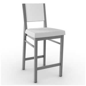 Payton Non swivel stool (cushion) ~ 40103 by Amisco