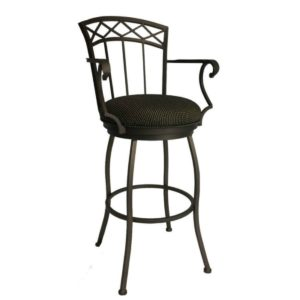 Portville Swivel Barstool w/ Arms by Callee