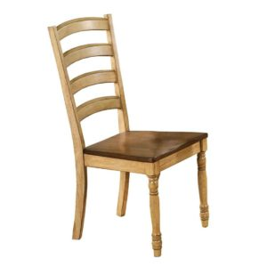 Quails Run Ladder-back Side Chair (Almond/Wheat) by Winners Only