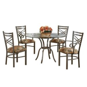 Rebecca 5 Piece Dining Set by Callee