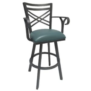 Rebecca Swivel Barstool w/ Arms by Callee