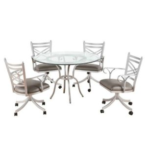 Rochester 5 Piece Dining Set by Callee