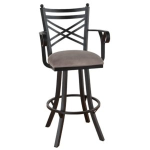 Rochester Swivel Barstool w/ Arms by Callee