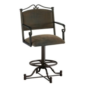 Seattle Swivel Barstool w/ Arms by Callee
