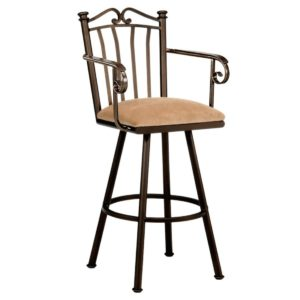 Sunset Swivel Barstool w/ Arms by Callee