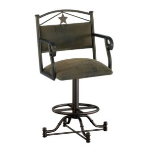 Texas Swivel Barstool w/ Arms by Callee