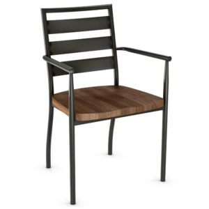 Tori Chair (wood) ~ 30124 by Amisco