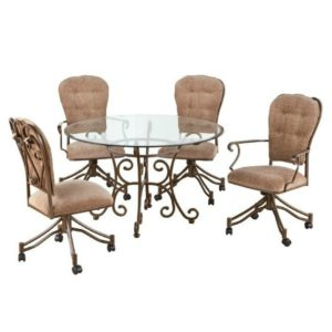 Valencia 5 Piece Dining Set by Callee