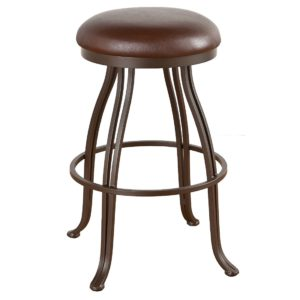 Valencia Swivel Barstool (Backless) by Callee