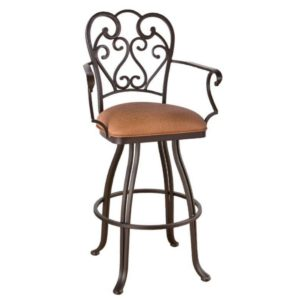 Valencia Swivel Barstool w/ Arms by Callee