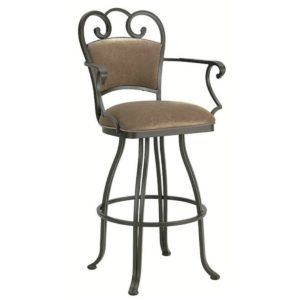 Ventura Swivel Barstool w/ Arms by Callee