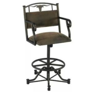 Wrangler Swivel Barstool w/ Arms by Callee