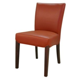 Beverly Hills Bonded Leather Chair (Pumpkin) by New Pacific Direct