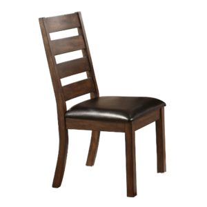 Kendall Ladder Back Side Chair (Espresso) by Winners Only