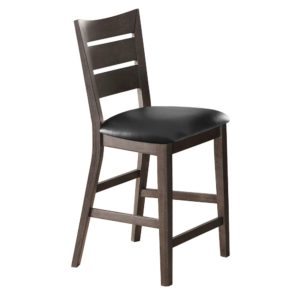 Parkside 24″ Ladder Back Barstool (Grey) by Winners Only