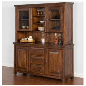 Tuscany China Hutch by Sunny Designs