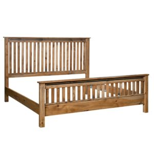 Bennington Slat Bed by Amish Crafted by Noah Bontrager