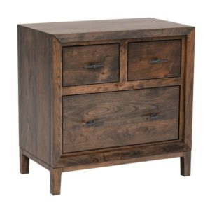 Soma 3-Drawer Night Stand by Amish Crafted by Noah Bontrager