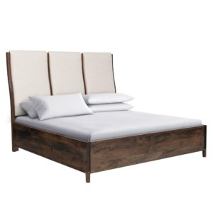 Soma Upholstered Bed by Amish Crafted by Noah Bontrager