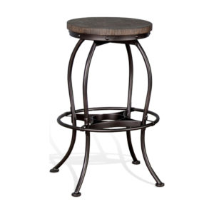Homestead 30″ Swivel Backless Barstool by Sunny Designs