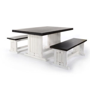 Carriage House Table & 2 Benches by Sunny Designs