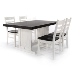 Carriage House Table & 4 Chairs by Sunny Designs
