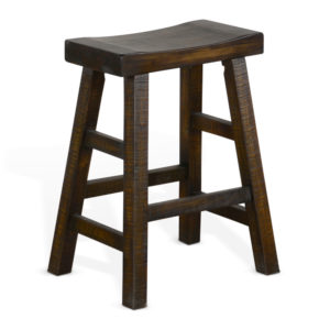 Homestead Saddle Seat Barstool by Sunny Designs