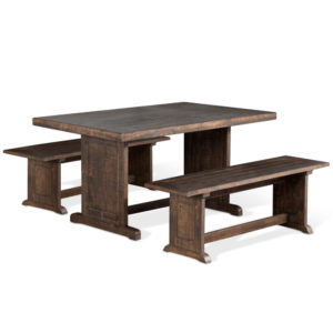 Homestead Table & 2 Benches by Sunny Designs